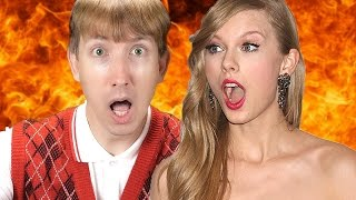 Taylor Swift - Bad Blood PARODY ft. Kendrick Lamar as Bad Luck Brian