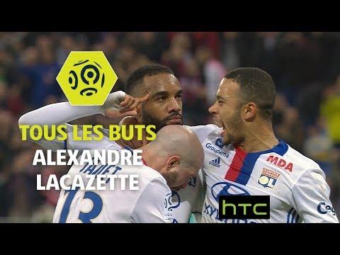 Tous les buts d'Alexandre Lacazette - OL 2016-17 - Ligue 1