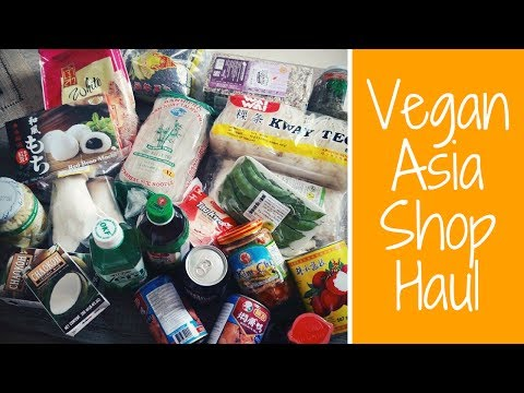 Vegan Asia Shop Food Haul | Mochis, Tamarinde, Kim Chi, Tempeh & mehr