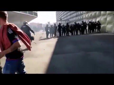 Part 1. Riots after the match FC Basel - FC Zurich 10.04.2016