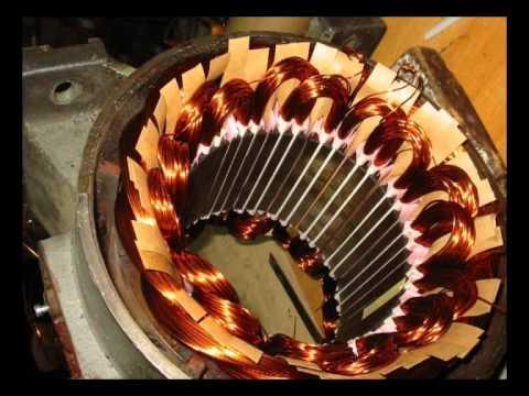Schemi Avvolgimenti Motori Elettrici : Serie di avvolgimenti motori elettrici statore youtube