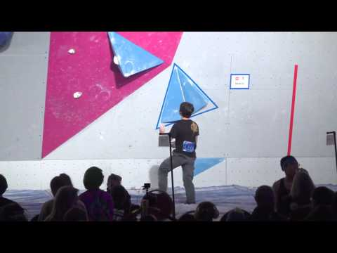 2015 ABS Youth - Male B Finals - Problem 2 (LIVE REPLAY)