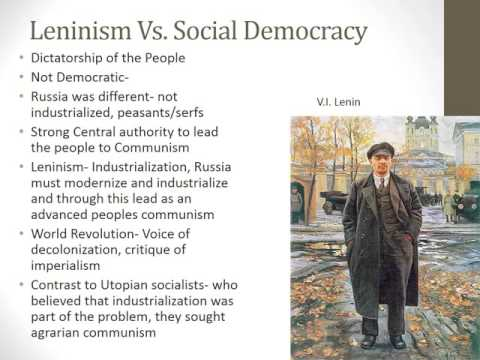 Political Science Marxism Socialism Leninism