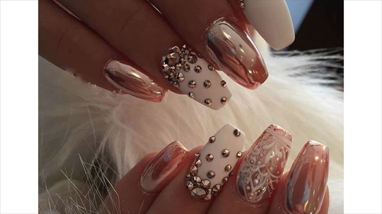 Simple Nail Art Gallery - YouTube