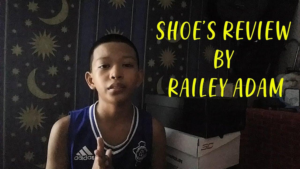 SHOE'S REVIEW// Railey Adam