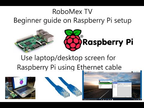 Easy Way Of Connecting Raspberry Pi To Laptop Using Ethernet Cable | Beginner Guide