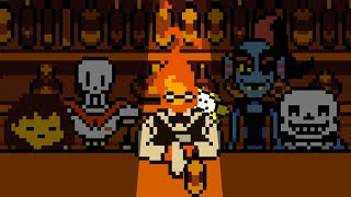Storytime With Grillby – An Undertale Sprite Animation