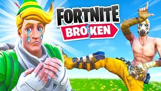 So They Broke Fortnite...Again