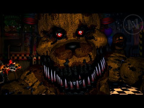 All Nightmare Fredbear Quotes / Voice Lines (Five Nights At Freddy's Ultimate Custom Night)