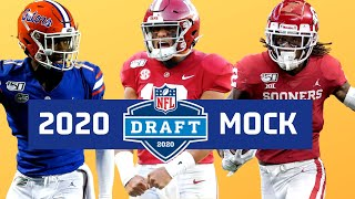 NFL Mock Draft 2020 with TRADES Full First Round