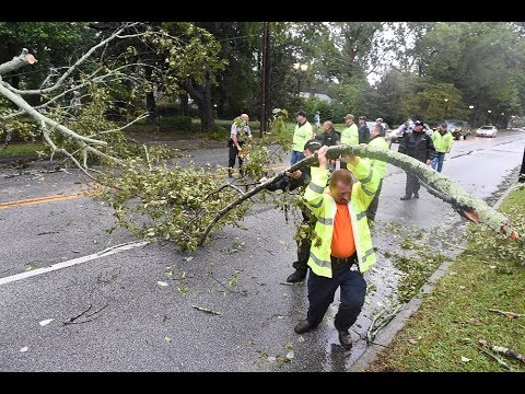 Tropical Storm Michael blows through Augusta