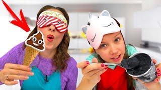 Челлендж Самое Странное Мороженое / Вики Шоу