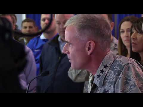Air Force Academy leader with stern message after racial slurs were discovered at Prep School