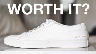 Common Projects vs Taft vs New Republic (HONEST Sneaker Review) | $89 vs $190 vs $411 White Shoes