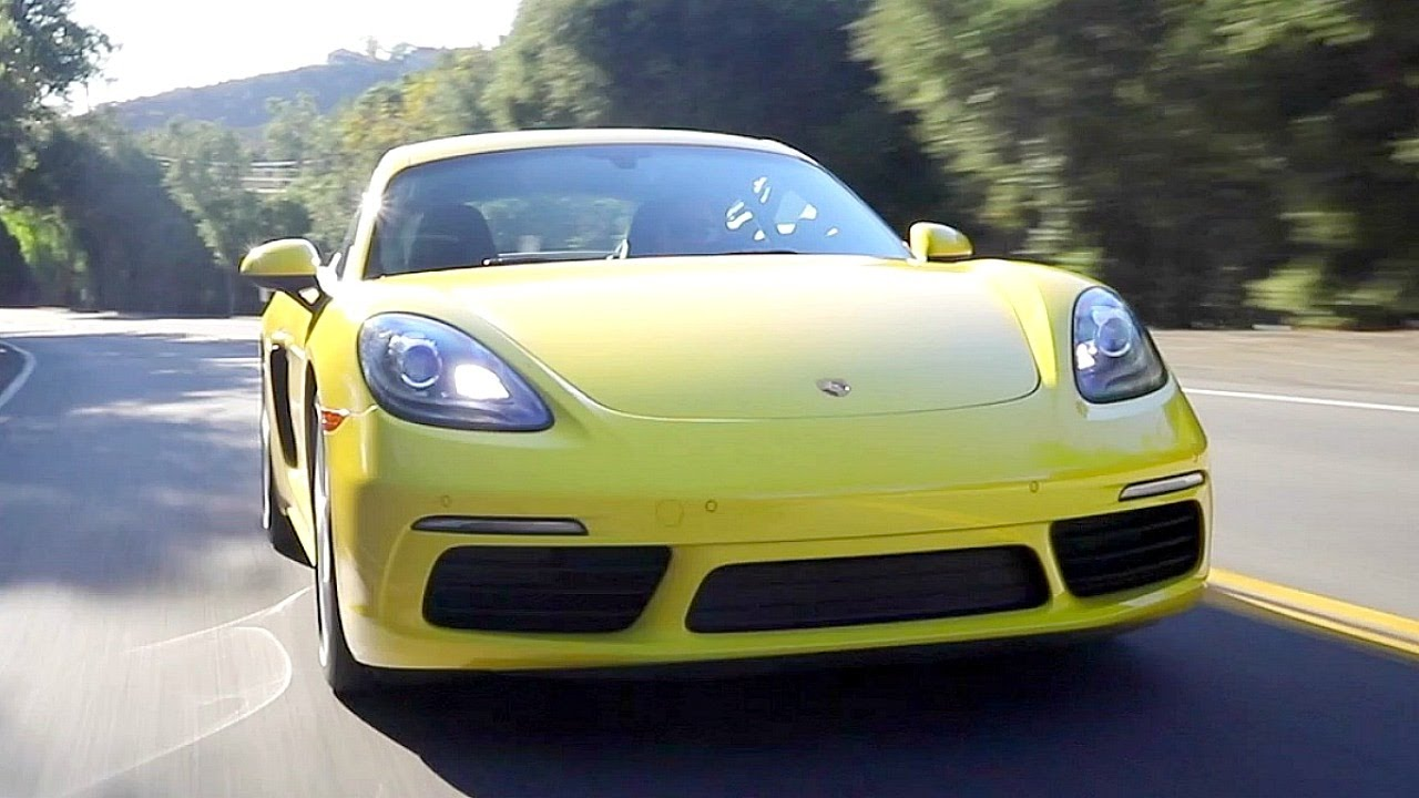 2017 Porsche 718 Boxster Cayman Review And Road Test