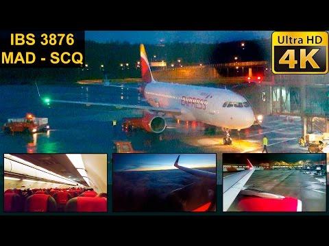 FLIGHT EXPERIENCE | Madrid - Santiago | IBERIA EXPRESS A320 Sharklets