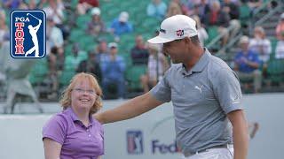 Gary Woodland Surprises Amy From Special Olympics Arizona 2019