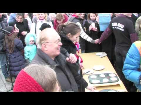 видео: Масленица в МГУ, 16.03.2013