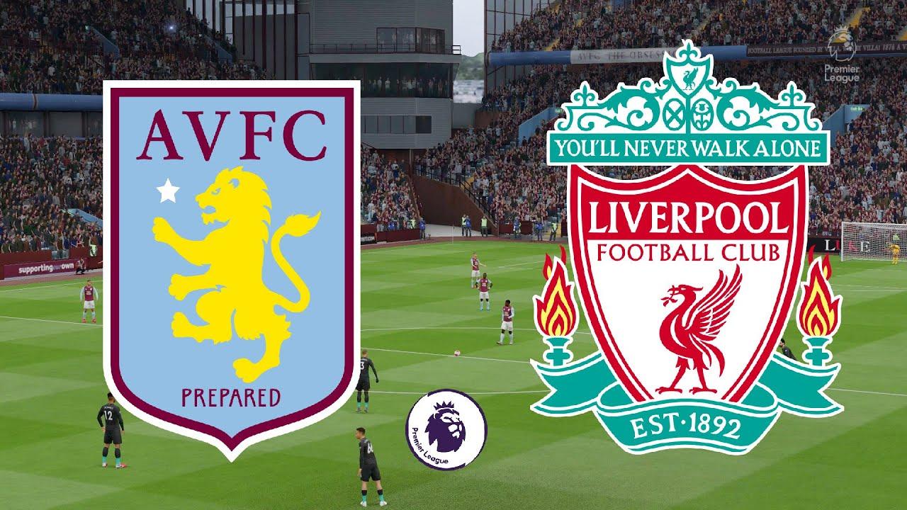 Premier League 2020/21 - Aston Villa Vs Liverpool - 4th ...