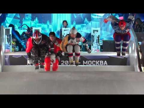 Чемпионат Мира по Скоростному Спуску на Коньках - Москва 2014