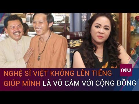 """Vợ ông Dũng """"lò vôi"""" chỉ trích nghệ sĩ Việt vô cảm: Nghệ sĩ Hoài Linh lên tiếng  VTC Now"""