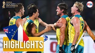 Australia v France | Odisha Men's Hockey World Cup Bhubaneswar 2018 | HIGHLIGHTS