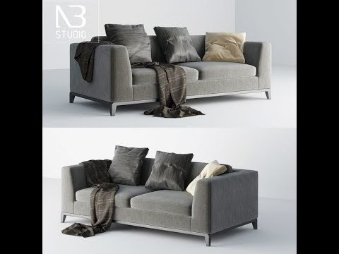 Free New 3D Models Sofa Group 3 3ds Max Vray High Quality