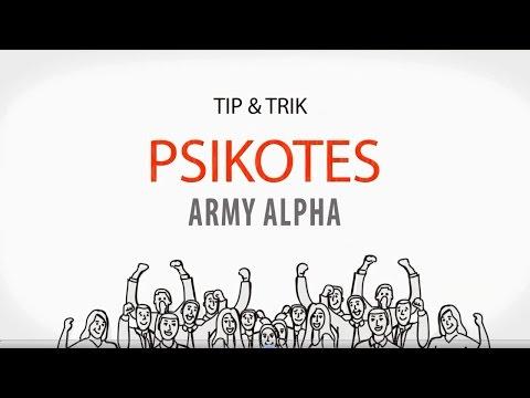 Tip & Trik Tes Army Alpha