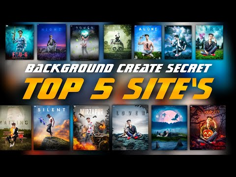 Background create secret   Top 5 Editing background Sites   Hd Background