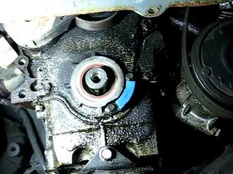 Front Crankshaft Oil Seal Replacement Youtube