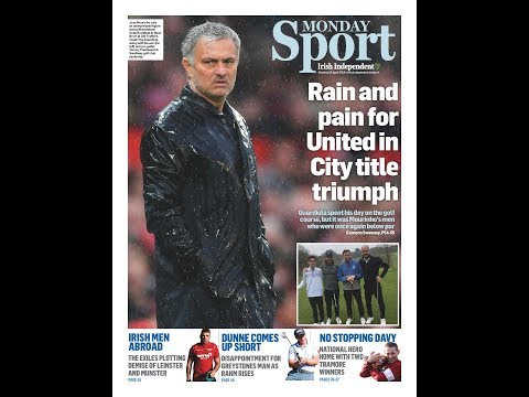 Monday's Sports Pages: Pep's City, José Pain, Jackson and Olding on the move, Grand National