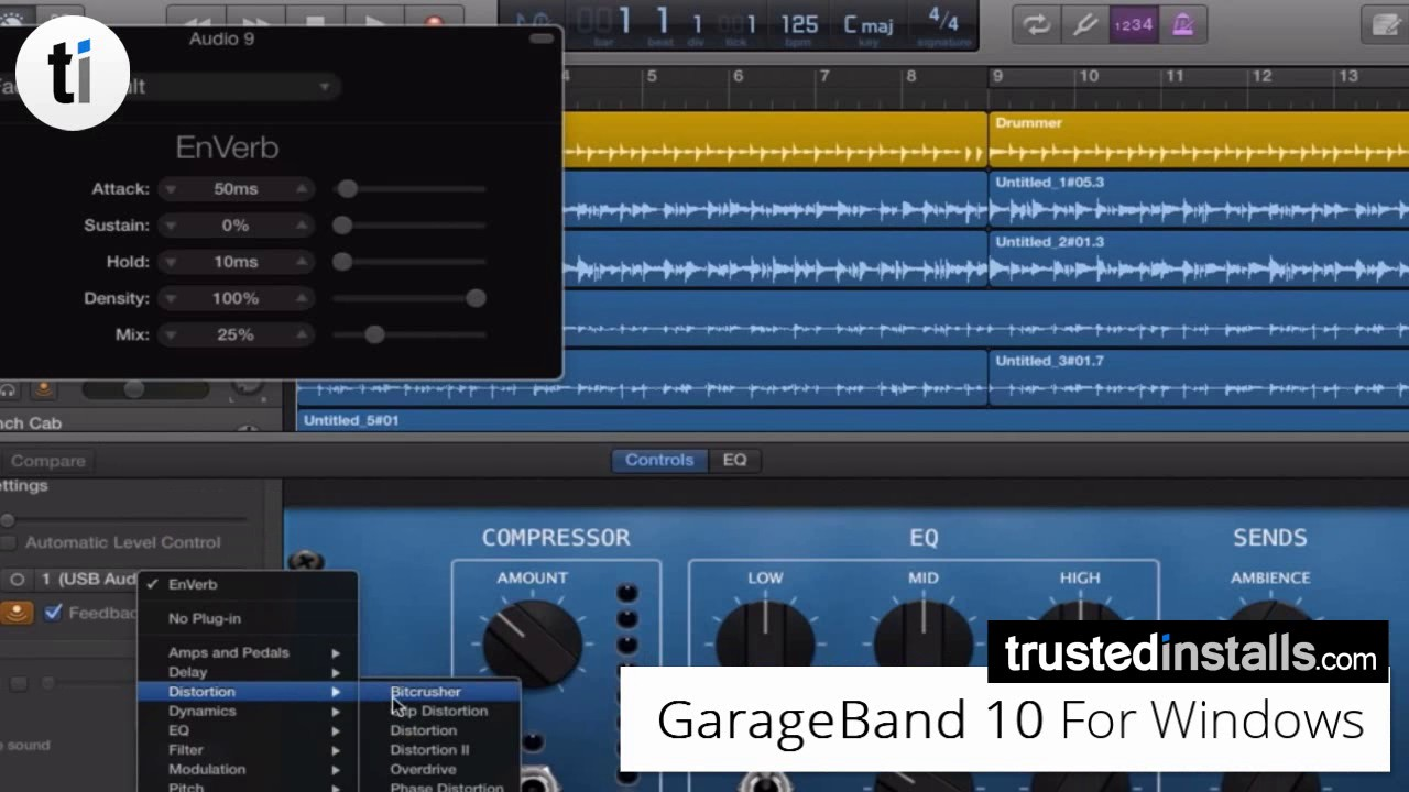 Garageband Na Pc Garageband 10 1 6 For Windows Pc Free Dl 2018