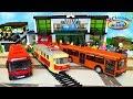 Троллейбус Трамвай Автобус Поезд Городской транспорт для детей и игрушки машинки Toy Trolleybus mp3