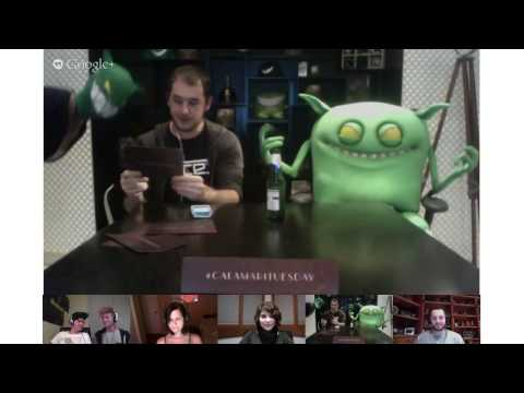 Feed Me - Calamari Tuesday Hangout (Hangouts On Air)