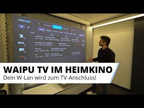 Fernsehen schauen am Beamer bzw. Laser TV ganz ohne Tuner mit WAIPU TV Streaming