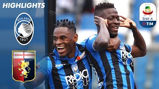 Atalanta 2-1 Genoa | Barrow and Castagne Score to Continue Atalanta's Top 4 Push! | Serie A