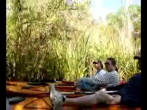 Jon guiding in the Everglades with Everglades Rentals & Eco Adventures