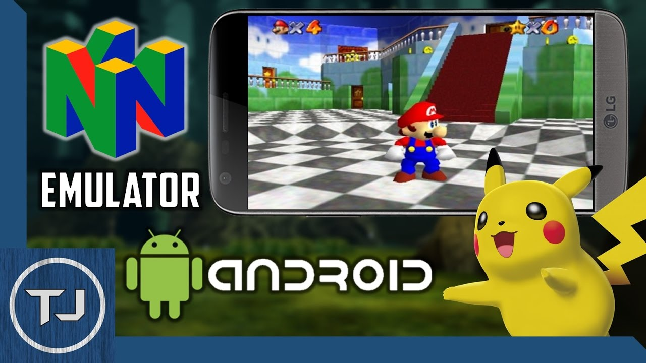 nintendo 64 emulator apk for android