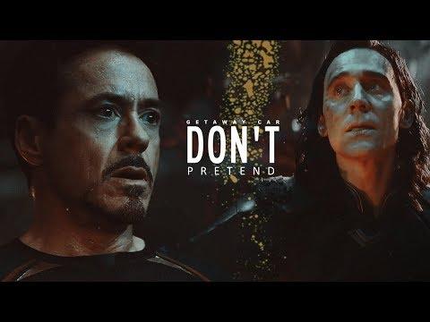 Tony + Loki | Don't Pretend