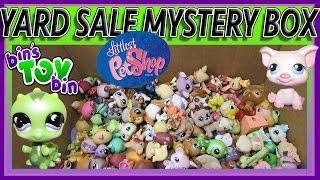 Littlest Pet Shop EPIC Yard Sale Haul!! HUGE Mystery Unboxing! by Bin