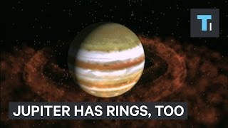 Surprise! Jupiter has rings like Saturn