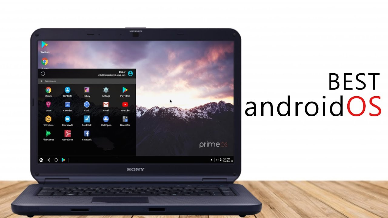 New Android OS for Laptops/PCs | Prime OS -The Best Android OS for PC