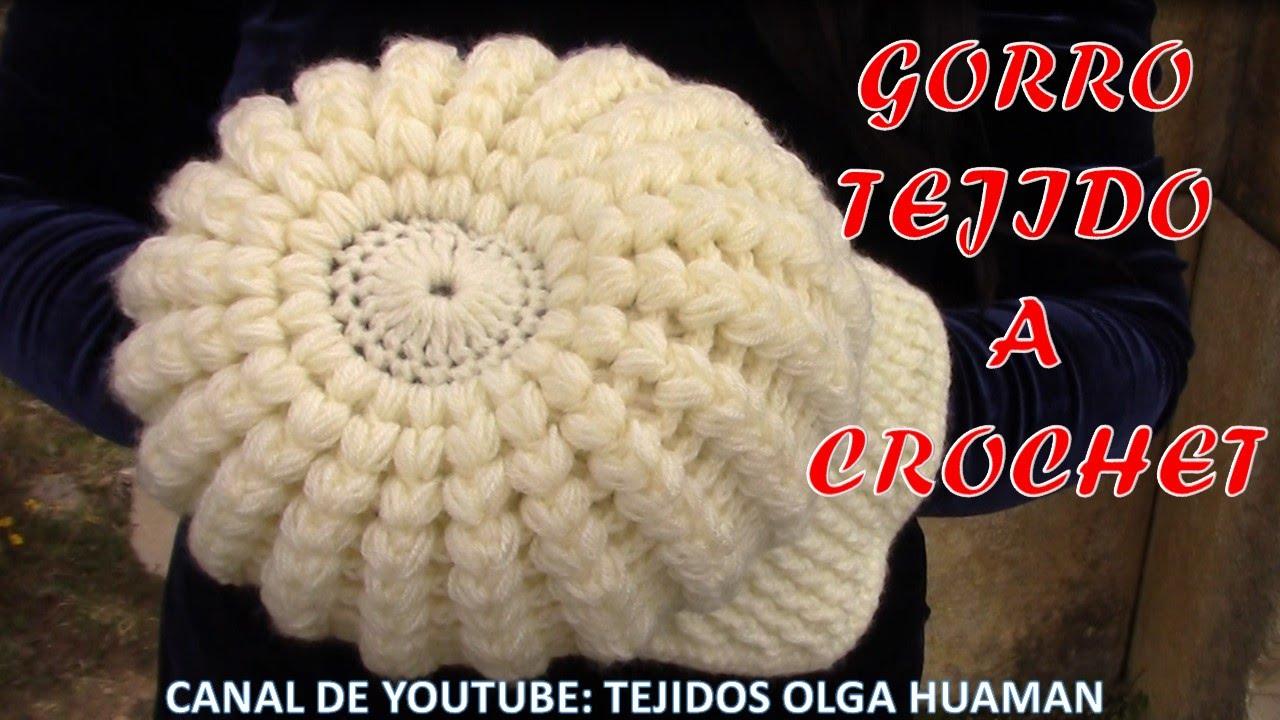 71c723046084e Gorra con visera tejido a gancho fácil y rápido para cualquier edad ...
