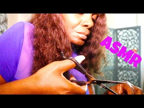 RELAXING ASMR Soft Spoken | Hair Cut