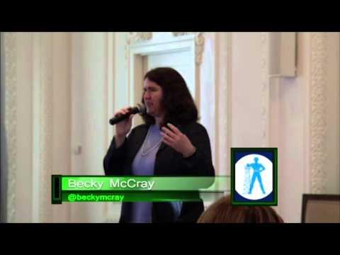 Becky McCray, keynote speaker at Social Media Tulsa Conference 2013