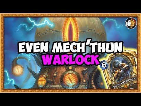 Hearthstone: Legend Even Mecha'thun Warlock Is Fun