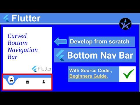 Bottom Navigation Bar in Flutter - Mobileapp Development