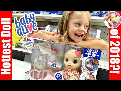 🤭 SURPRISE TARGET Shopping Outing For REAL AS CAN BE Baby Alive?! ❤️