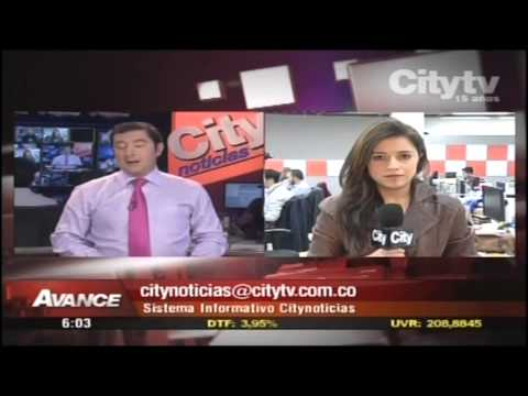 Esteban Noguera - Avance de noticias Citytv, Bogotá (Colombia)