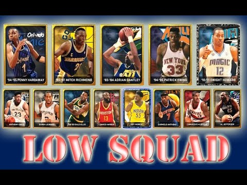 NBA 2K15 | HOWARD ONYX, EWING y PENNY | LOW SQUAD (Sorteo)